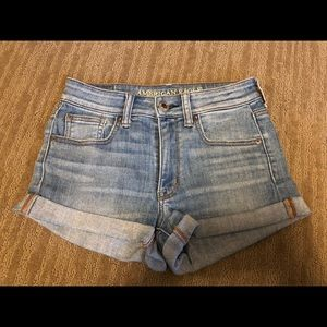 American Eagle Jean Shorts Size 2 Great Condition